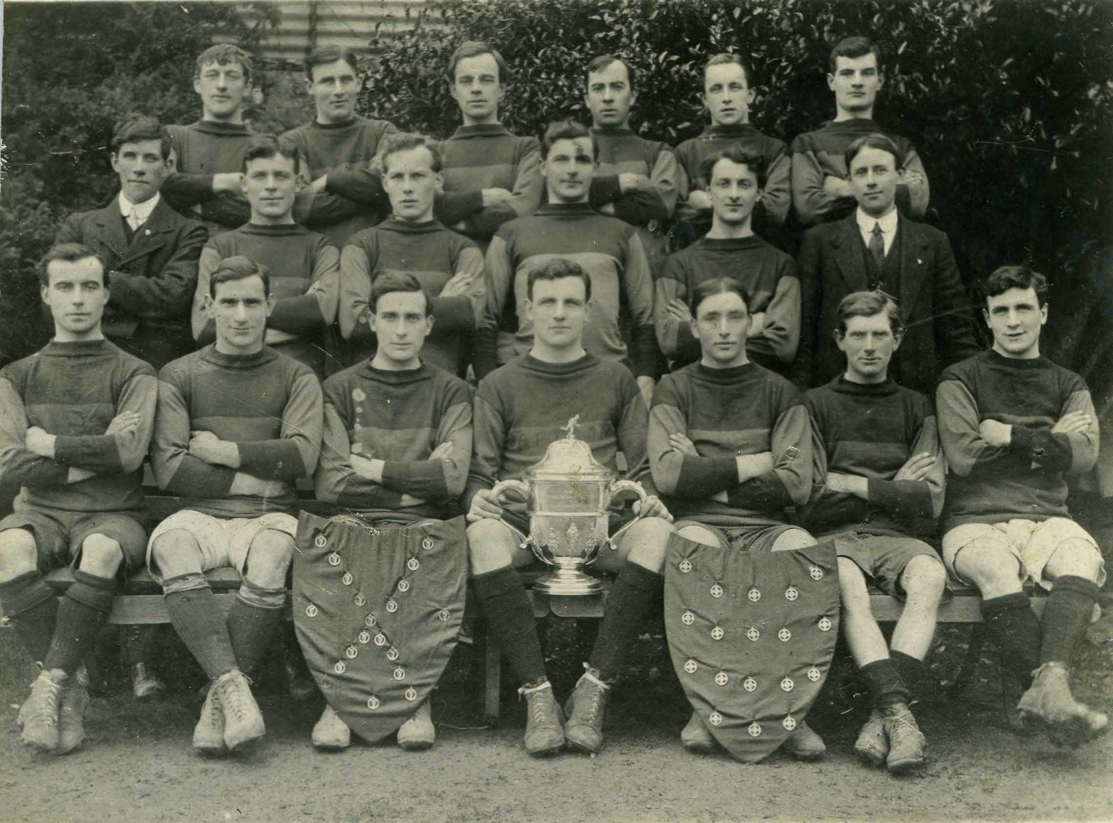 Wexford (Blues & Whites) 1916 Football All-Ireland Champions