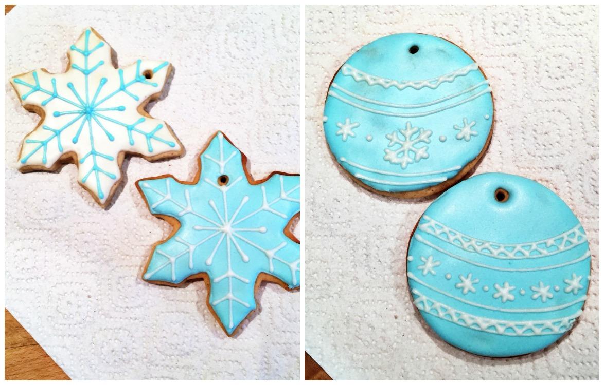 Как украсить имбирное печенье глазурью