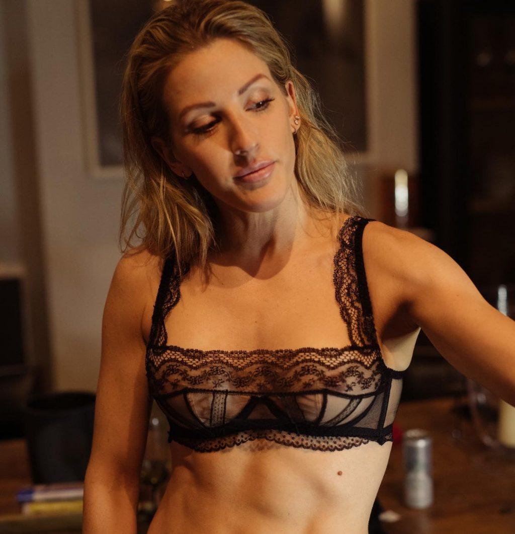 Ellie Goulding See Through Nude