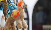 Самый популярный сувенир в Тунисе - игрушечный верблюд
