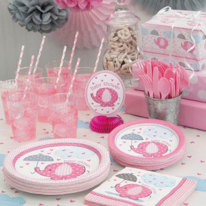 Pink Umbrellaphants