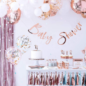 Rose Gold Baby Shower