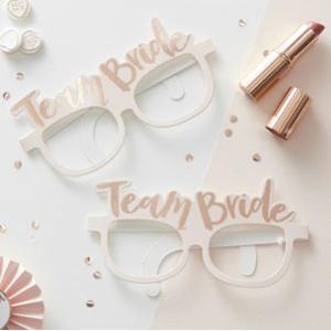 Team Bride Glasses (8pc)