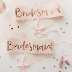 Team Bride Bridesmaid Sash (2)