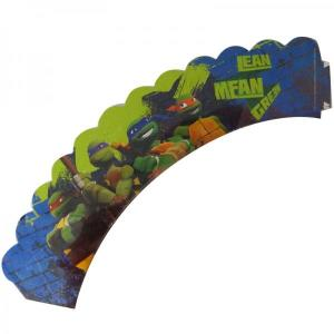 Teenage Mutant Ninja Turtles Cupcake Wraps (6)