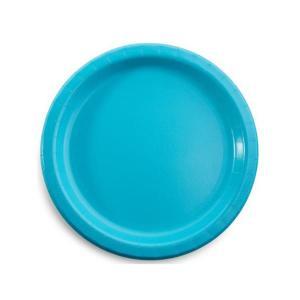 Caribbean Teal Large Plates (8)