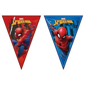 Spiderman Team Up Flag Banner