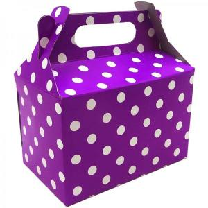 Purple Dotted Party Box (10)