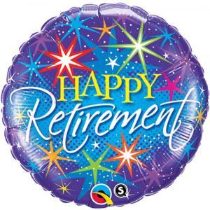 Happy Retirement Foil Balloon 18 inch