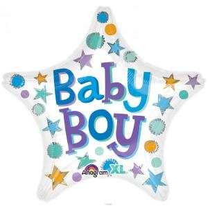 Star Baby Boy Balloon