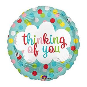 Thinking of you 17 inch Foil Balloon