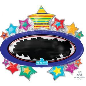 Write on Black Board Marquee Foil Balloon