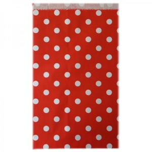 Red Dotted Candy Bags (25)
