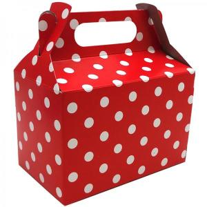 Red Dotted Party Box (10)