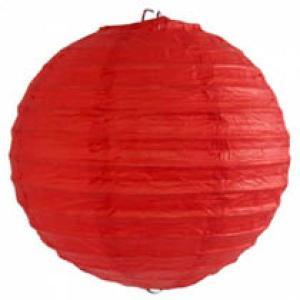 Red Wired Lantern (30cm)