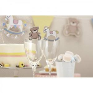Rock-a-Bye Baby - Glass Decorations (10)