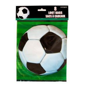Super Soccer 3D Plastic Party Bags (8)