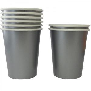 Silver Paper Cups (8)