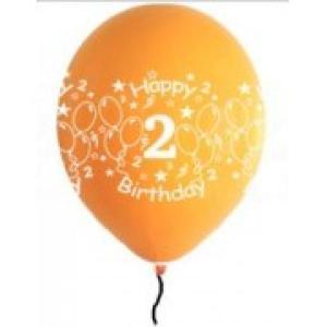 Happy 2nd Birthday Balloons Girl Shades(5)