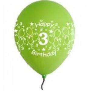 Happy 3rd Birthday Balloons Girl Shades (5)