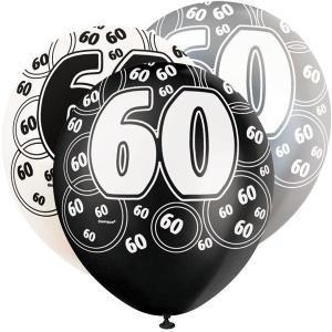 Age 60 Balloons (6)