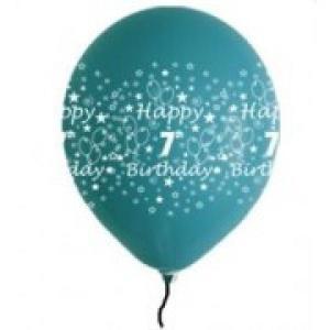 Happy 7th Birthday Balloons Boy Shades (5)