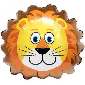 Lion foil balloon