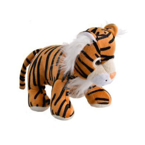 Animal Jungle Plush Tiger 15cm