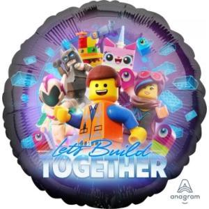 Lego Movie 2 Foil Balloon 18 inch