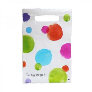 Birthday Colourful Spots Party Bags (6)