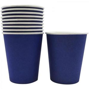 Navy Blue Paper Cups (10)
