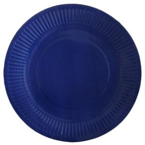 Navy Blue Paper Plates 10