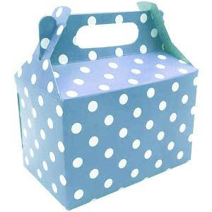 Light Blue Dotted Party Box (10)
