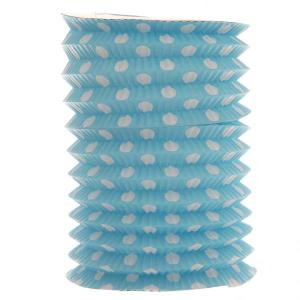 Light Blue Dotted Lantern