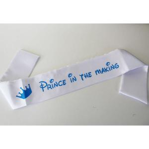 Prince in the Making Sash for mom
