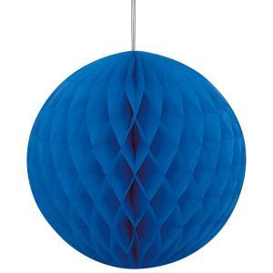 Royal Blue Paper Ball (20cm)