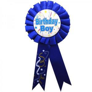Birthday Boy Rosette