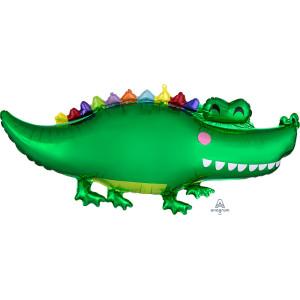Happy Crocodile Supershape Balloon 42 Inch