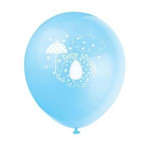 Blue Umbrellaphant Balloons (8)