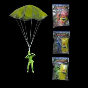 Soldier with Parachute