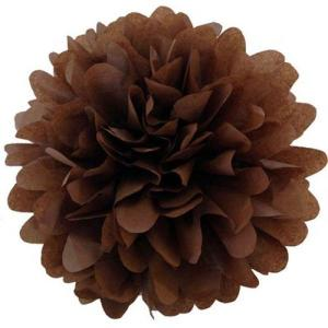 Coffee Tissue Pom Poms (20cm)