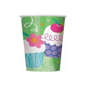 Cupcake Party Paper Cups (8)