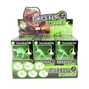 Dino Fossils Glow in the Dark Excavation Kit (each)