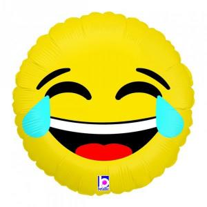 Emoji LOL balloon