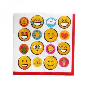 Emoji Faces Lunch Napkins (16)