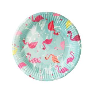 Funky Flamingo Plates Large (10)
