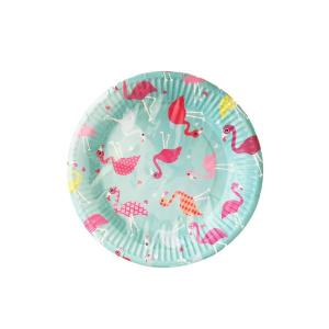Funky Flamingo Plates Small (10)