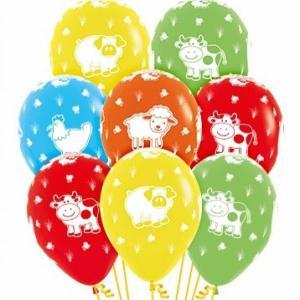 Farm friends balloons assorted (5)
