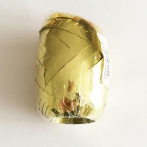 Gold Metallic Ribbon Bobbin 5mm x 20m