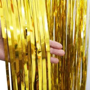 Gold Foil Fringe Backdrop